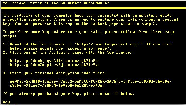 Photo of Pakar Keamanan Siber Temukan Virus GoldenEye Varian Baru dari Ransomware