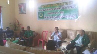 Photo of Galang Dukungan, Wakil Walikota Palopo Sambangi Kantor DPC Partai Bulan Bintang