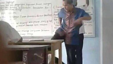 Photo of VIDEO: Sadis, Guru Honorer SMK Gema Karya Bangsa Ini Tendang Muridnya Berkali-kali