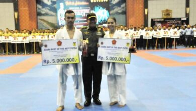 Photo of Mabes AD Best of The Best Kejurnas Karate Panglima TNI Ke-VII