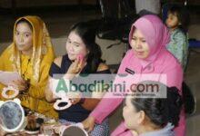 Photo of Kursus Make-up dan Menjahit Ibu Bhayangkari Cabang Bantaeng Buka Peluang Bisnis