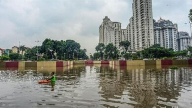Photo of Underpass Kemayoran Masih Tergenang Air 3 Meter