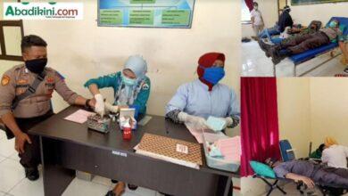 Photo of Kekurangan Stok, PMI Gandeng Polres Bantaeng Gelar Donor Darah