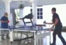 Photo of Tantang Paspampres Main Tenis Meja, Ma'ruf Amin: Saya Lupa Bagaimana Melakukan Smash