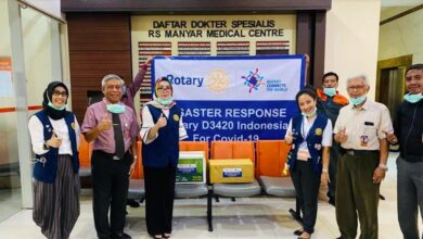 Photo of Rotary Disaster Response District 3420 Indonesia Bantu Pemerintah Tangani Covid-19
