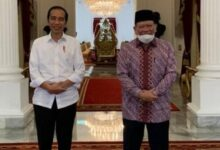 Photo of Satu jam di Istana, LaNyalla sampaikan ketahanan pangan hingga penguatan DPD RI