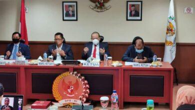 Photo of Apresiasi Sikap Komite I, Pimpinan DPD RI Evaluasi Proses Pilkada Desember