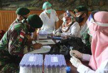 Photo of Purna Tugas, Personel Satgas Yonif 411 Kostrad Jalani Pemeriksaan Kesehatan