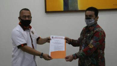 Photo of Sekjen Pemuda Pancasila Serahkan SK MPO MPN Pemuda Pancasila Ke Wagub DKI Jakarta