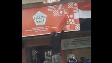 Photo of Beredar Video Viral Logo HUT ke-75 RI Dicat Karena Mirip Salib