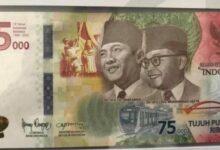 Photo of Pemerintah Terbitkan Uang Kertas Senilai Rp 75 Ribu, Ini Alasannya