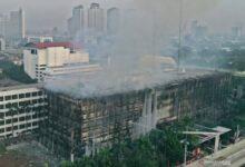 Photo of Perkembangan Kasus Kebakaran Gedung Kejagung, Polisi Tetapkan 8 orang Tersangka
