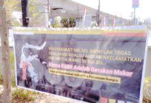 Photo of Di Sulsel Deklarasi KAMI Dianggap Gerakan Makar