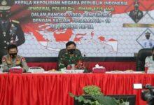 Photo of Panglima TNI dan Kapolri Pimpin Rapat Penanganan Covid-19 di Provinsi Papua