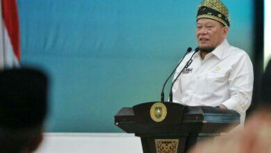 Photo of Kunjungi Riau, LaNyalla Kenalkan Tagline DPD RI: 'Dari Daerah Untuk Indonesia'