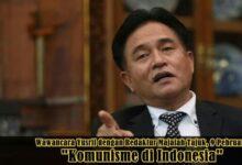 """Photo of Wawancara Yusril Ihza Mahendra dengan Majalah Tajuk tentang """"Komunis Di Indonesia"""""""