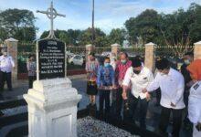 Photo of Teladani Semangatnya, LaNyalla Kunjungi Makam Nommensen dan Sisingamangaraja XII